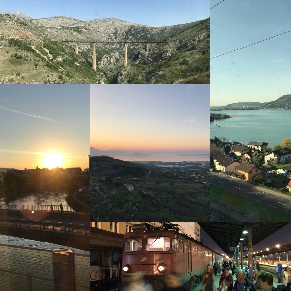 Balkanrunde: Von Basel über Split, Bar und Belgrad nach Wien